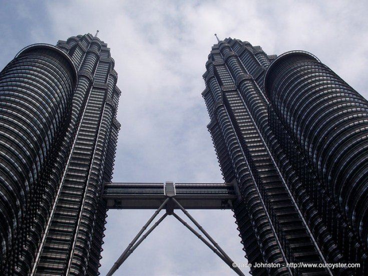photo of KL twin tower