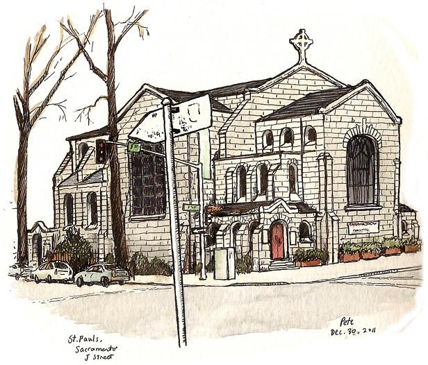 st paul's, midtown sacramento