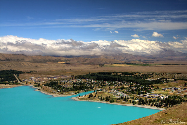 Lake Tekapo town
