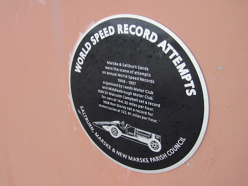 Saltburn, Land Speed Records