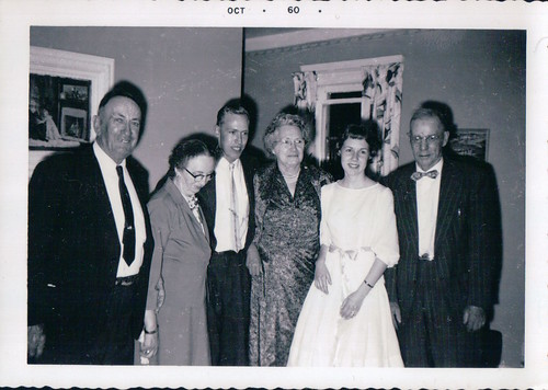 Judy with family, 1960