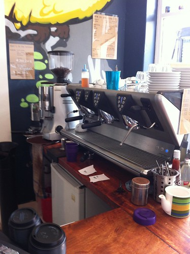 where the magic happens, sparrow coffee traders, rockdale