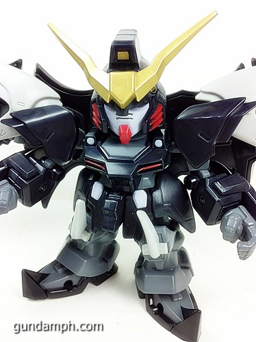 SD Gundam Online Deathscythe Hell Custom Toy Figure Unboxing Review (38)