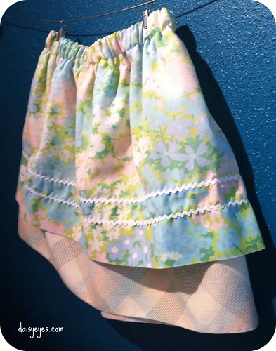 pillowcase skirt