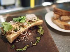Baked bone marrow, snails, garlic, shallot parsley, Esquina Tapas Bar, Jiak Chuan Road, Keong Saik, Tanjong Pagar