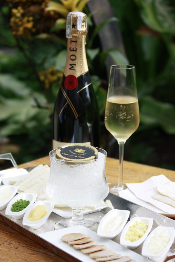 LUSSO CAVIAR AND CHAMPAGNE