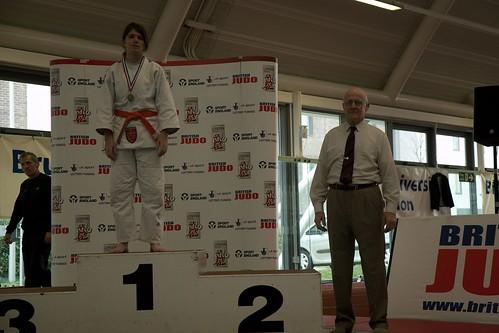 Sarah gets gold in u63 orange-blue belt category
