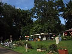 Drinks stall. Pulau Ubin