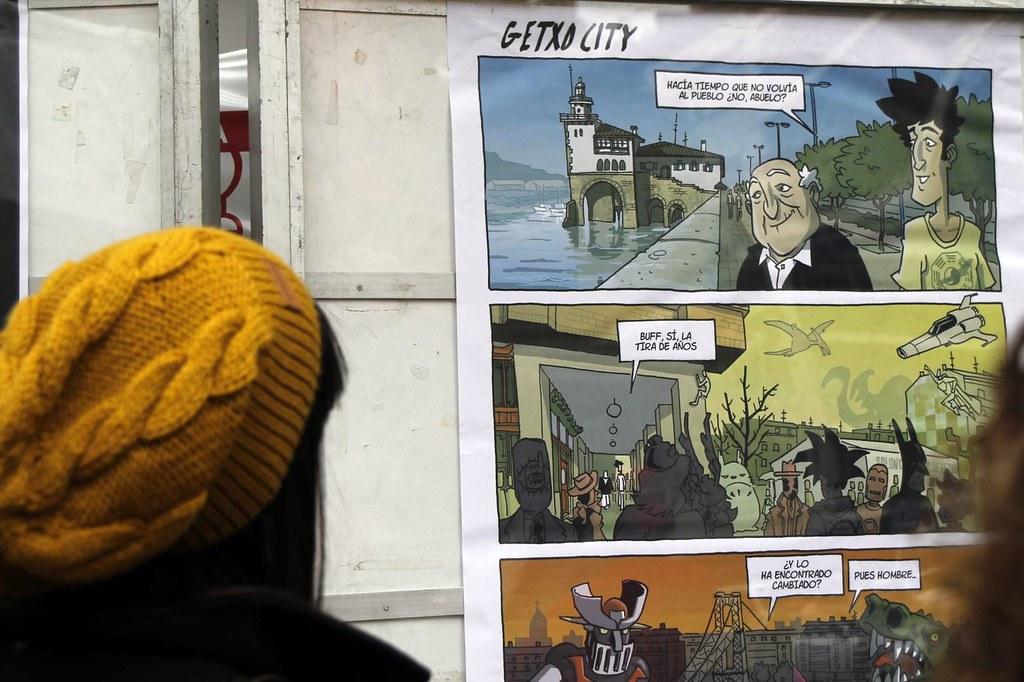 Getxo City en el X Salón del Cómic en Getxo