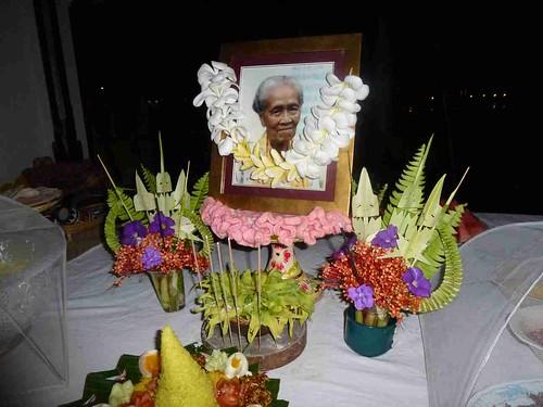 Ibu's 90th Birthday cake - Oct 3