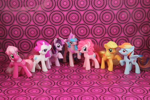 My Little Pony Friendship is Magic McDonald's Toys