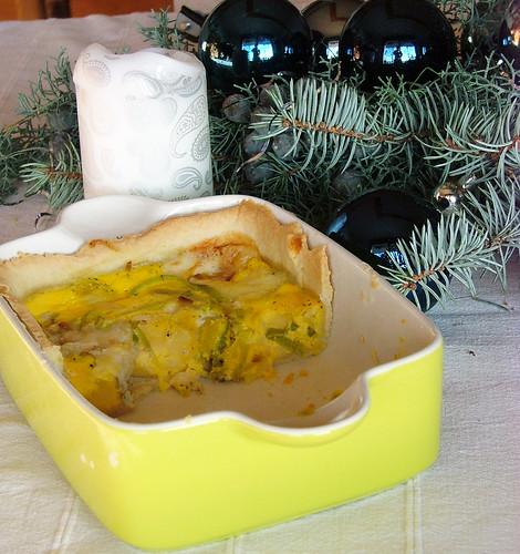 Dasha's Leek & Cheese Quiche