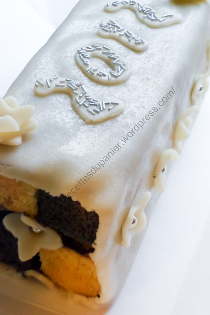 Gâteau Battenberg façon Nouvel An / New Year Battenberg Cake