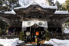 Shrine in 十和田湖 Lake Towada