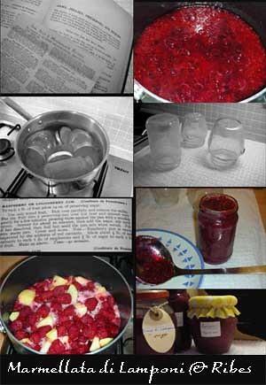 marmellata di lamponi