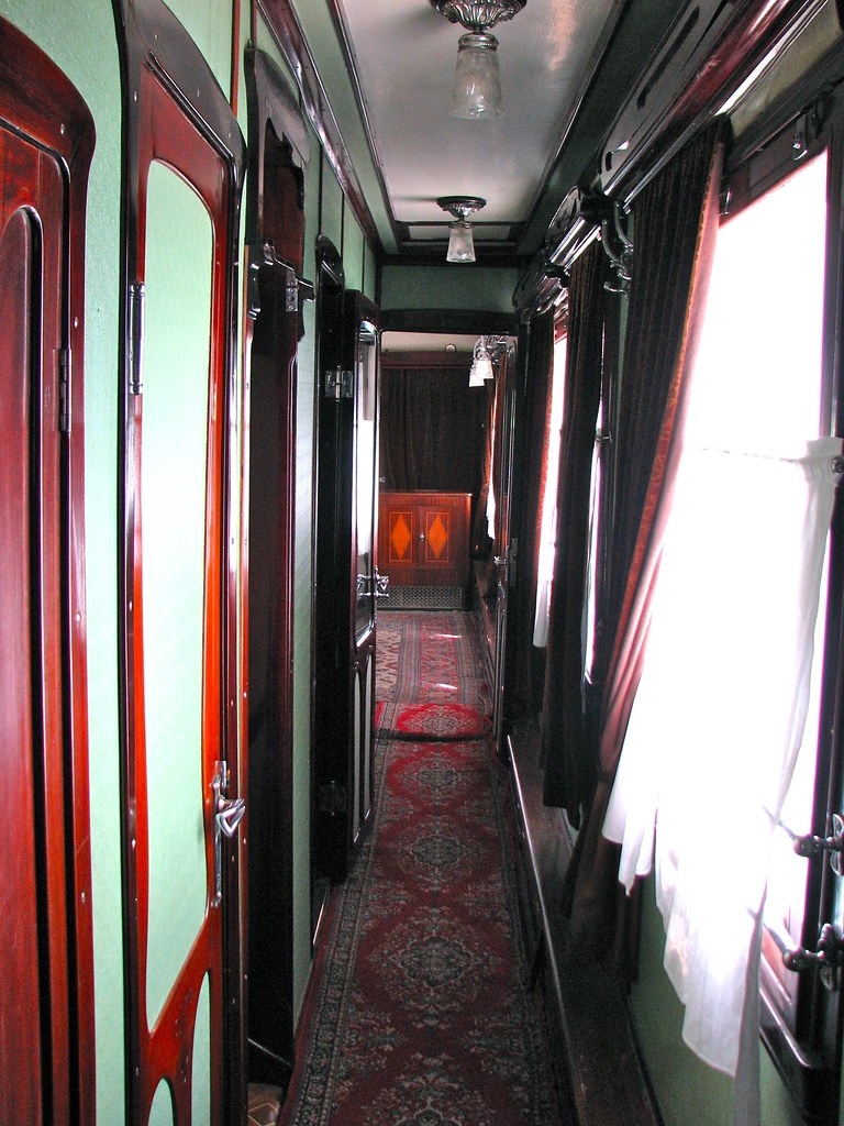 Stalin's Private Train Car in Gori - Georgia