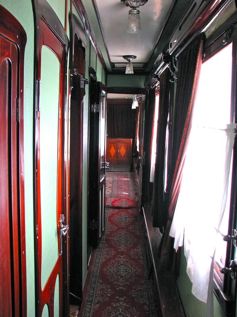 Stalin's Private Train Car in Gori - Georgia