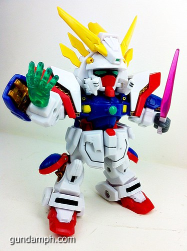 SD Archive Shining Gundam Unboxing Review (37)