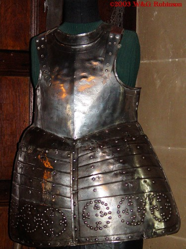 Pikeman's Armour, Warrick Castle, Great Hall