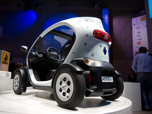 Twizy Car at LeWeb'11.