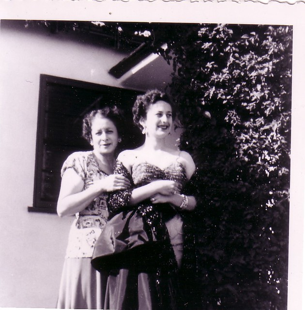 Leila with her daughter, Sandra