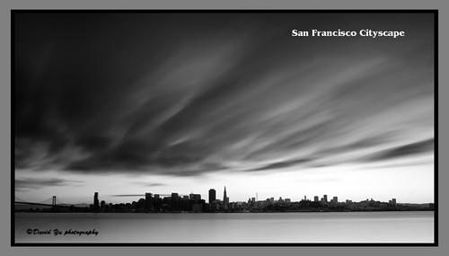 San Francisco Cityscape by davidyuweb
