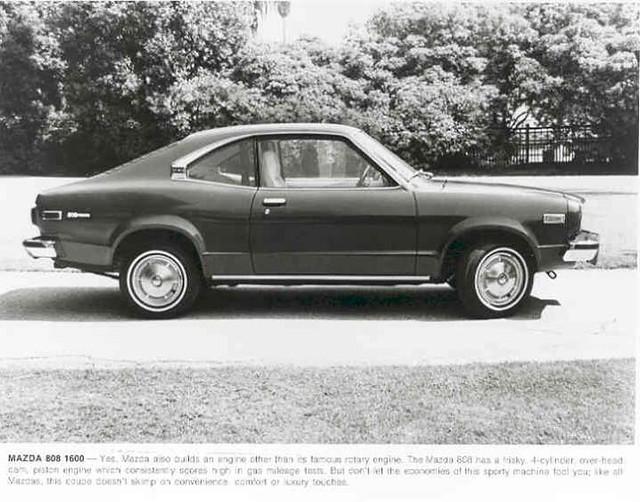 1976 Mazda 808 Factory Photo