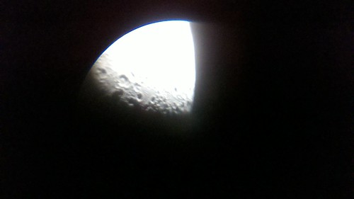 Moon through my telescope