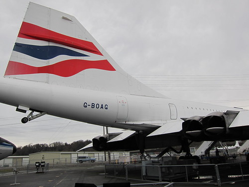 Concorde's tail colors