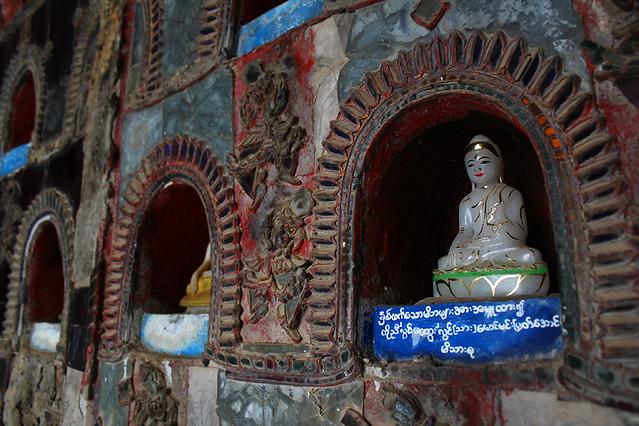 In a temple near Shwe Yaunghwe Kyaung, Nyanungshwe, Inle Lake