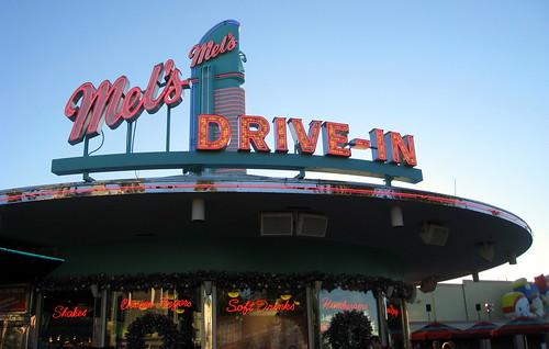Universal Orlando - Universal Studios - Mel's Drive-In