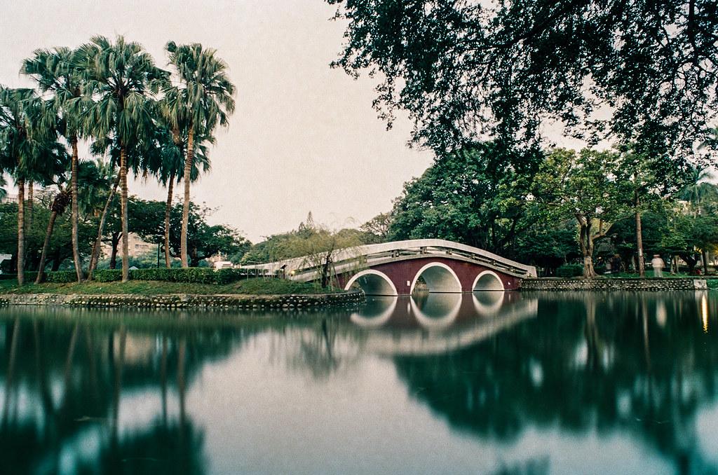 Taichung Park Pond morning film