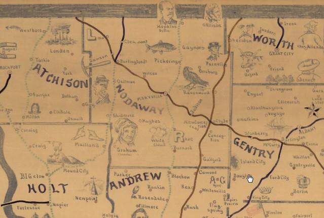 Nodaway County Railroads