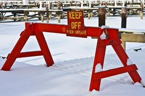 Pier unsafe