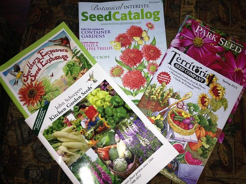 2012Seed Catalogs