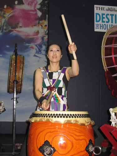 Japanese Taiko Drumming by Joji Hirota