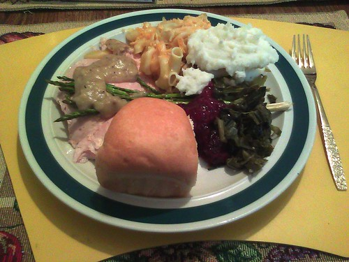 Thanksgiving Plate 2011