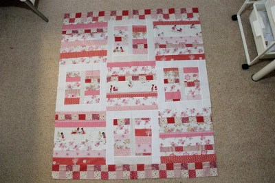 Front of Abbie's quilt
