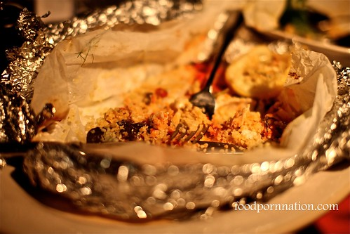 Fish baked in a bag @ Jaime's Italian Sydney
