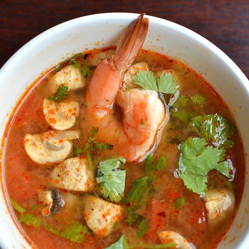 Hot and Sour Shrimp Soup 2