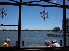 From inside Simmo's Ice-Cream, Madurah, Western Australia