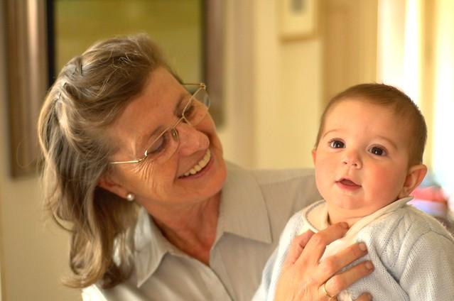 6/366: Abuela y nieto