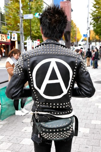Anarchy at Harajuku Station