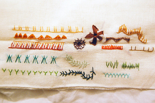 tast 2012 #2: buttonhole stitch