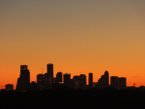 Sunrise over Houston 2