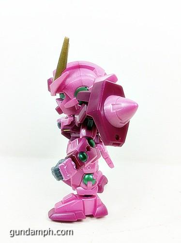 SD Gundam Online Capsule Fighter Trans Am 00 Raiser Rare Color Version Toy Figure Unboxing Review (16)