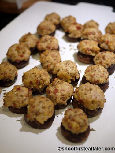 pancetta stuffed mushrooms
