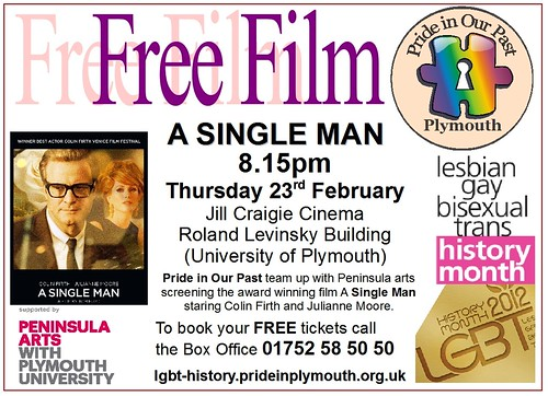 A Single Man - 23rd Feb 2012 by Pride in Our Past