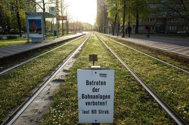 Dabei würde ich diese Gleisanlagen so gerne betreten