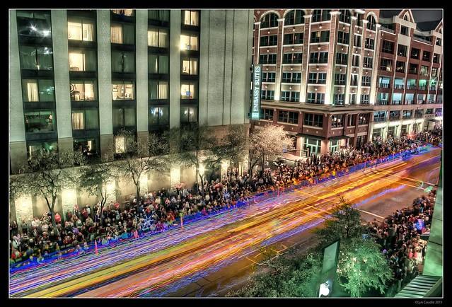 Fort Worth Parade Lights